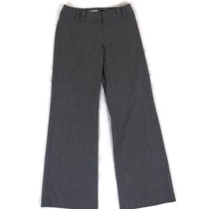 Ann Taylor LOFT Ann Fit Gray Bootleg Dress Pants